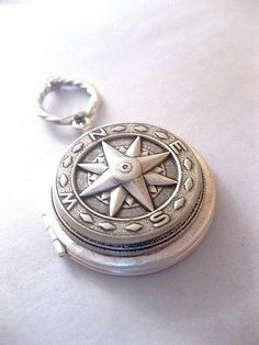Style 2 Compass Locket Necklace  True North by FashionCrashJewelry