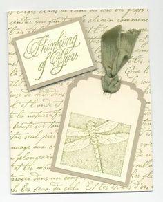 French Script Dragonfly
