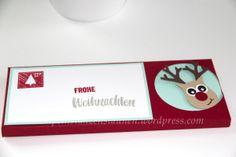 gift box, geschenkverpackung handmade with Stampin' Up!, Schokolade, chocolate, punch art, reindeer, rentier, weihnachten, christmas, Project Life In Herbst Und Winter 2015, owl builder, tree builder, eule, baum, freude zur weihnachtszeit, Berlin Stampin' Up!, SU   https://stempelnstanzenstaunen.wordpress.com/