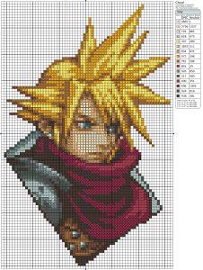 Final Fantasy VII – Cloud Strife Birdie's Patterns, Cloud, Final Fantasy, Final Fantasy, Final Fantasy VII, Gaming, Kingdom Hearts 0 Comments Jul 162013
