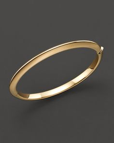 Roberto Coin 18 Kt. Yellow Gold Bangle Bracelet | Bloomingdales