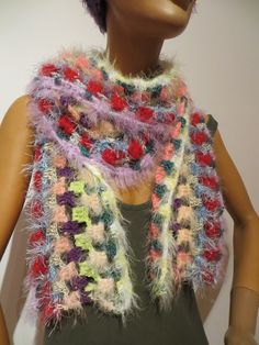 cuddly soft, handmade, Unique, Shawls, Scarves, Colours, Crochet, Unique, Handmade, Fashion, Ponchos, Scarf Crochet