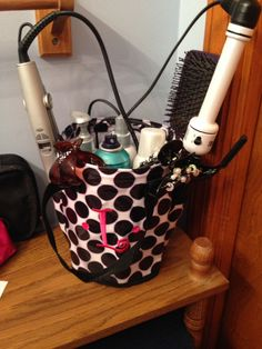 Cool idea for your round about caddy from thirty one