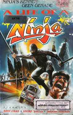 A Life of a Ninja (1983) by Tso Nam Lee #80s #exploitation #vhs #art