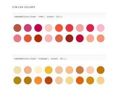 randomColor A color generator for JavaScript.