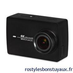 Caméra dAction XIAOMI YI II 4K à 187 Bonjour  Bon plan de retour sur lexcellente caméra daction XIAOMI YI II (présenté ICI) qui est dispo en ce moment à 187.  Elle filme en 4K à 155 est équipée dun stabilisateur dimage bleuffant dispose dune batterie de 1400mAhdun écran de 2.19dun double micro du bluetooth etdu Wifi AC.    Spécifications :  Processeur Ambarella A9SE75  Capteur dimage IMX377 12MP 1/2.3 155 (grand angle)  7couches optique lentilleF2.8 (f = 2.68mm)  Stabilisateur dimage  Double…