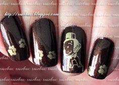 nail art dog