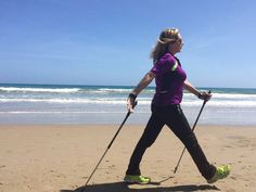 Nordic Walking, Cross Training, South Africa, Health Fitness, Exercise, Teaching, Beach, Ejercicio, The Beach