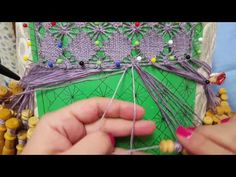 "Remate de Brujas ""Belga"" - Cierre en recto - Bolillotutorial Raquel M. Adsuar Bolillotuber - YouTube Plastic Canvas Stitches, Bobbin Lace, Crochet Necklace, Knitting, Sewing, Inspiration, Youtube Youtube, Farmhouse Rugs, Lace Shawls"