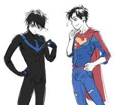 """dsasworld: """"Jon & Dick exchange costumes :P """""""