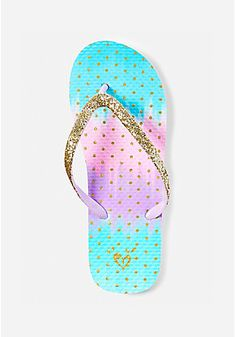 Get warm-weather ready with girls' flip flops from Justice. Find everything from beaded flip flops to vibrant colors & prints! Cool Watches For Women, Mini Chainsaw, Glitter Flip Flops, Rose Gold Accessories, Cute Slides, Hello Kitty Items, Clear Bags, Fashion Design Sketches, Little Girl Dresses