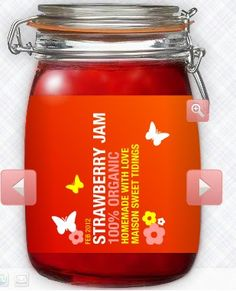 Lakeland Jam Jar Labels Pickles Preserves Marmalade Mixed fruit Jam 20 Labels