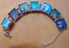 Book Lovers Bracelet  Vintage School Readers by SharisBitsandBobs, $16.99