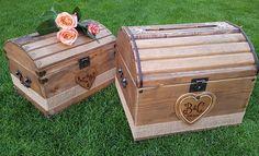 Wedding Treasure Chest  Wedding Card Box.