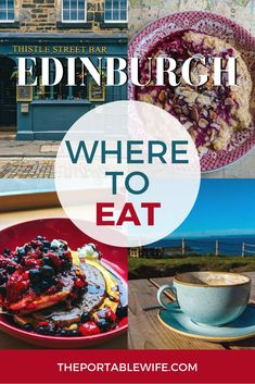 These Edinburgh restaurants are perfect for your first trip to the city. If you'… These Edinburgh restaurants are perfect for your first trip to the city. If you're planning a trip to Scotland and wondering where to eat in Edinburgh,… Continue reading → Scotland Travel Guide, Scotland Vacation, Europe Travel Guide, Scotland Trip, Travel Tips, Travel Ideas, Travel Info, Travel Goals, Travel Hacks