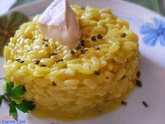 ©Oggi vi cucino così!: Risotto allo Zafferano e Curcuma con Tomino Langhe...