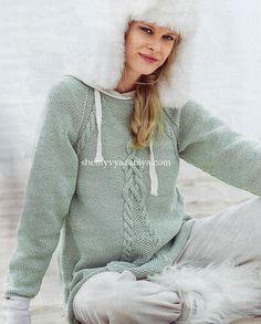 Пуловер-реглан А-образного силуэта. Обсуждение на LiveInternet - Российский Сервис Онлайн-Дневников