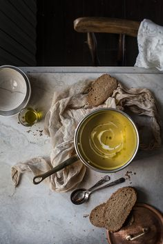 Sunchoke Saffron Creamy Soup | Hortus Natural Cooking