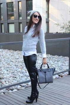 Leather Pants Galore — NICHOLE dot NYC