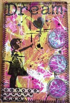Hello everyone and thanks for stopping by here today. I have been playing with my Gelli plate and printing of lots of new pages wit...