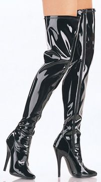 Classic dominatrix boots in black patent, featuring a thigh-high length, side zip from top to bottom for an easy put on and stretch design that perfectly wraps your body for a sultry look. Fashion Drawing Tutorial, Fashion Model Drawing, Fashion Design Drawings, Fashion Sketches, Fashion Illustration Shoes, Fashion Illustration Tutorial, Fashion Art, Fashion Models, Leder Boots