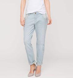 Sklep internetowy C&A | THE BOYFRIEND, kolor:  dżins-jasnoniebieski | Dobra jakość w niskiej cenie
