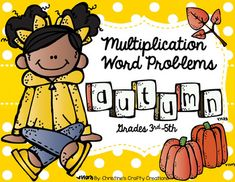 28 Multiplication word problem task cards for fall. *Great for math centers, small group instruction, or whole class instruction. *Student recording sheet and answer key included.I have also created Winter Multiplication Problems:Winter Multiplication ProblemsMore 4th grade math resources: 4th Grade...