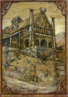 Meduseld, the Golden Hall of Rohan