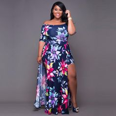 Plus size and curvy fashion for women in all plus sizes. Buy women's plus size clothing including dresses, tops, bottoms, and lingerie. Rompers Women, Jumpsuits For Women, Curvy Girl Fashion, Plus Size Fashion, Fashion Women, Cheap Fashion, Women's Fashion, Plus Size Dresses, Plus Size Outfits