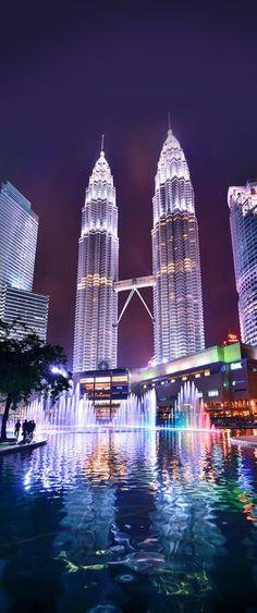Petronas Tower, 452m, 1998, Kuala Lumpur, Malaysia