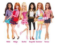 Amigas de Barbie