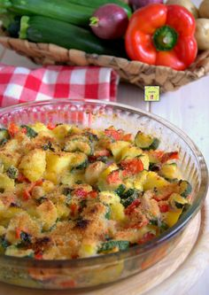 Pizza Rustica, Antipasto, Ratatouille, Vegetable Recipes, Italian Recipes, Side Dishes, Risotto, Food Porn, Food And Drink