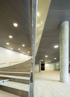 Image 21 of 32 from gallery of Danish National Maritime Museum / BIG. Photograph by Luca Santiago Mora Architecture Design, Contemporary Architecture, My Home Design, House Design, Bjarke Ingels Architecture, Big Architects, Concrete Wood, Maritime Museum, Design Museum