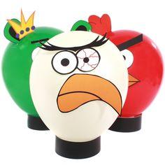 Angry Bird Balloon centerpieces