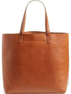 Madewell 'The Transport' Leather Tote - Brown