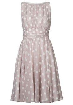 Sukienka koktajlowa - flieder/weiß/ivory
