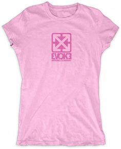 Evoke Apparel - Evoke Apparel Square Womens Graphic T-shirt, $27.00 (http://www.evokeapparelcompany.com/evoke-apparel-square-womens-graphic-t-shirt/)  The Evoke apparel logo womens graphic t-shirt.