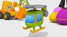 Cartoni Animati per bambini - Max l'escavatore - Come si fa un'elicottero?