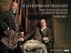 5 февраля - Грэм МакТавиш и Гари Льюис ответили на вопросы фанатов Facebook. - 7 Февраля 2016 - Outlander