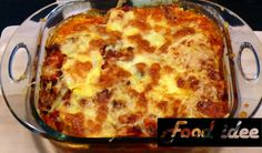 Ovenschotel met gele courgette - Food idee Lasagna, Foodies, Pizza, Dinner, Ethnic Recipes, Halloween, Salad, Dining, Food Dinners