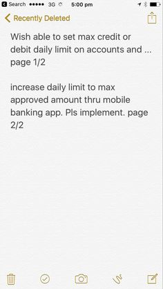 Bank proactively inform customers of option to set payment limit on accounts via app #microsoft #apps #technology #japan #usa #china #india