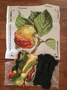 Kaffe+Fassett+Needlepoint+Kits+ +Ehrman+Tapestry+Needlepoint+Apple+Kaffe+Fassett+Fruit+Kit