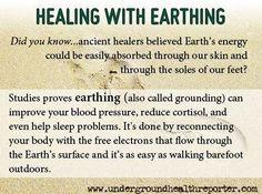 Healing With Earthing ~ ~ http://undergroundhealthreporter.com/earthing-anti-aging#axzz25QadlTFV