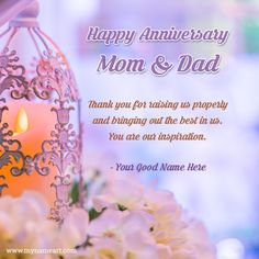 Happy Marriage Anniversary Wishes To Mom And Dad Happy Marriage Anniversary Quotes, Anniversary Wishes Message, Anniversary Quotes For Parents, Wedding Anniversary Greeting Cards, Happy Wedding Anniversary Wishes, Happy Anniversary Cakes, Birthday Wishes, Mom Dad Anniversary, Happy Birthday