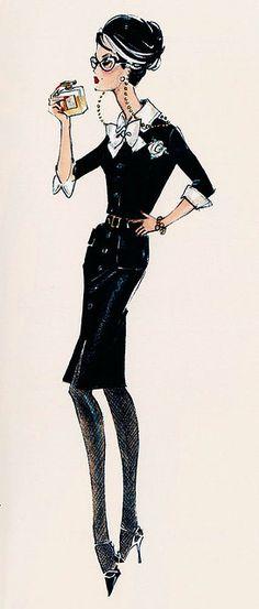 Robert Best - Barbie - illustration