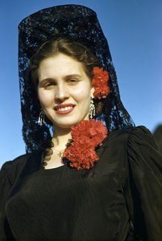 spanish headdress | Traditional Spanish Headdress Traditional spanish mantilla