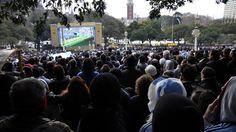 Centro de Aliento en Buenos Aires........... Argentina 1 Suiza 0 .......... Gol de Di Maria..... en tiempo suplementario..... 1 julio de 2014.. octavos de final.. Estadio Arena Corinthias ... San Pablo.. Brasil.