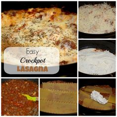 Lasagna in a Crockpot? I love how Easy this Slowcooker Lasagna Recipe is to make. It turned out perfect!