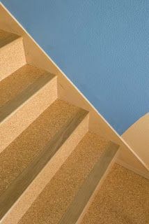 Cork Floor Stairs
