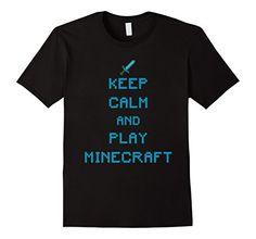 Keep calm and play minecraft T shirt - Male Medium - Black D180 http://www.amazon.com/dp/B019E7HNEA/ref=cm_sw_r_pi_dp_jnRDwb1NX5PSQ